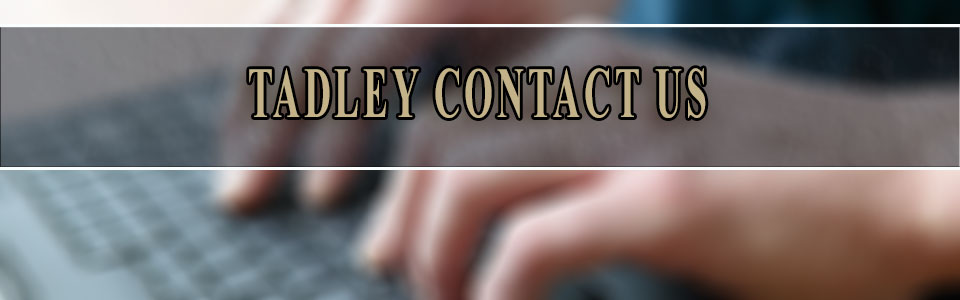 contact us at tadley